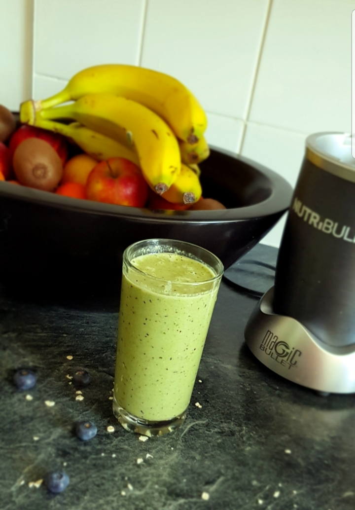 The power of one green smoothie aday