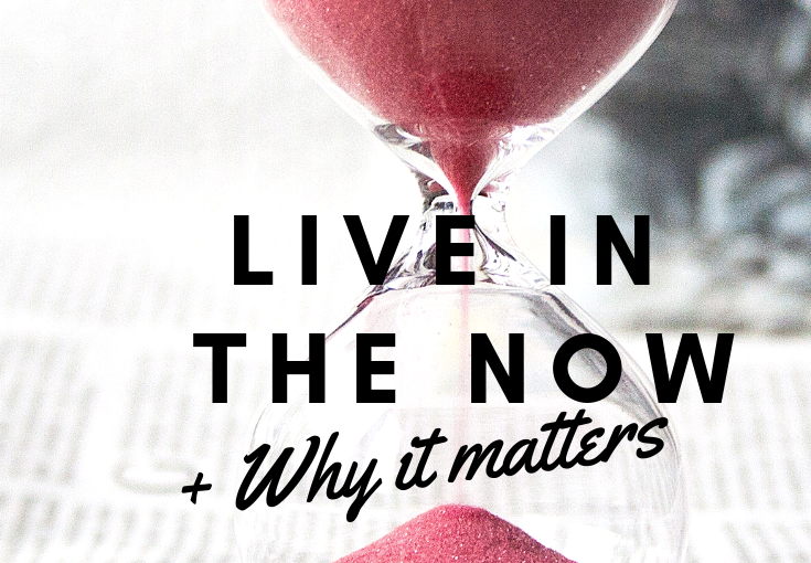 TIME – why it is so important to live in themoment.